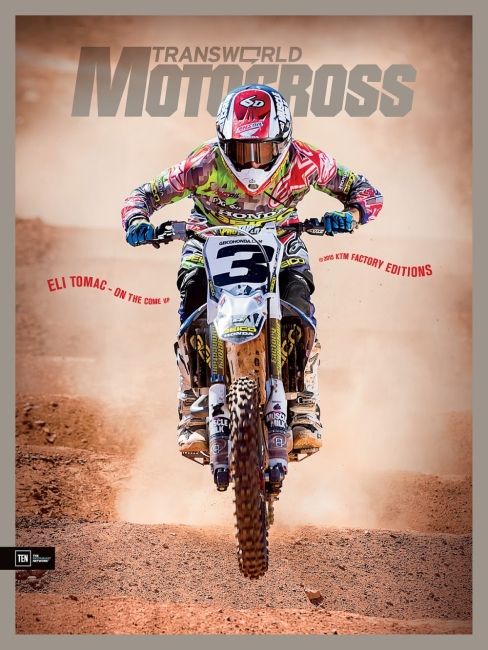I snagged the latest cover shot right before leaving TWMX.